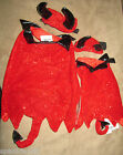 PETCO HALLOWEEN DEVIL COSTUME 2 PIECE SETS NWT SIZE EXTRA SMALL