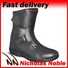 MERLIN SHIFT WP BLACK SHORT TWIN ENTRY WATERPROOF BREATHABLE MOTORCYCLE BOOTS
