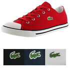 Lacoste L27 Women's Shoes Canvas Lace Up Low Top Sneakers