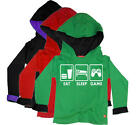 Stardust EAT SLEEP GAME HOODIE Boys/Girls Child/Kids Clothing Cotton BN
