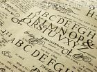 Cotton Linen Retro English Newspaper Print Fabric