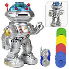 Remote Control Robot Talking Walking Dancing Slides RC Toy Gift For Kids