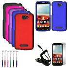 Phone Case For Alcatel OneTouch Pop Icon Cover + Car Charger Screen Guard Re-Pen