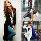 2014 New Women Cardigan Knit Knitwear Sweater Coat Long Wraps Outwear CA HF