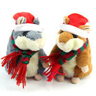 Electronic Mimicry Talking Sound Record Hamster Plush Toys Christmas Xmas Gifts