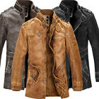 WINTER JACKET For Men Thick WARM Military Coats Slim Fit Outwear Parka FREE SHIP