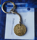 Birthday Christmas Unusual Gift Coin Keyring For Birth Years 1951-1983 Lot 2c