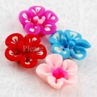 20/100 Mixed Fimo Polymer Clay Flower
