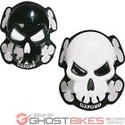 Oxford Skull Motorcycle Knee Sliders Super Track Race Motorbike Suit Sliderz