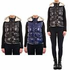 Hidden Fashion Womens Ladies Shearling Lined Chunky Puffer Jacket Gilet