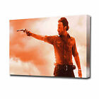 LARGE WALKING DEAD SHERIFF CANVAS PRINT EZ1062