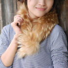 Genuine Real Raccoon Fur Scarf Fur Muffler Wrap
