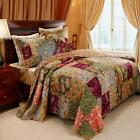 Greenland Home Antique Chic Quilt & Sham Set, Twin, Full/Queen Or King