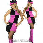 CL205 Swinging 60s Mod 1960s Disco 1970s Retro Groovy Go Go Dance Party Costume