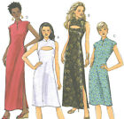 Misses A Line Dress Sewing Pattern Front Variations Collar 2 Lengths Easy 4796