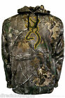 MENS NEW Browning CAMO REALTREE FISHING HUNTING HOODIE HOOD TOP sz S-XXL BROWN