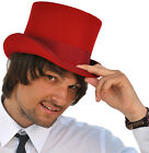 Christys Fashion Top Hat In Red