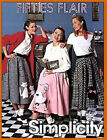 Sew & Make Simplicity 7214 SEWING PATTERN Womens SOCK HOP POODLE SKIRTS COSTUMES