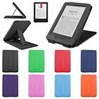 """PU Leather Stand Case Cover for 2014 Amazon Kindle 6"""" eReader 7th Gen+Matte Film"""