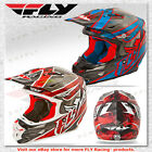 Fly Racing F2 Carbon Acetylene Offroad Motocross MX Helmet