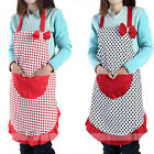 Korean Fashion Bowknot  Cute Apron / Waterproof Cartoon Canvas Aprons