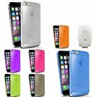 Colorful Thin Hard Case+White Travel Charger Adapter For iPhone 6 Plus 5.5""