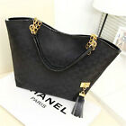 Crazy cheap Bag Canvas Bag Shoulder Chain Bag Women Black White Red Handbags