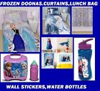 Frozen Doona Duvet Quilt Curtains Wall Stickers Lunch Bag Water Bottles Games