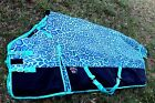 1200D Turnout Waterproof Horse WINTER BLANKET HEAVY WEIGHT Turquoise 531G