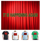 2017 Return of Twin Peaks TV Series, Red Curtains T-shirt, IT IS HAPPENING AGAIN
