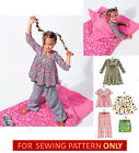 SEWING PATTERN! MAKETOPS~DRESS~PANTS~SLEEPING BAG! CHILD 3 TO GIRL 16! CLOTHES