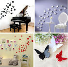 3D DIY Wall Sticker Stickers Butterfly Home Decor Room Decorations 12 PCS W87 for sale  Shipping to Nigeria