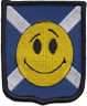 More images of Scotland Scottish Smiley Face Flag Embroidered Patch Badge