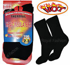 Mens EXTRA WARMTH Winter THERMAL Heat INSULATORS SOCKS UK Size 6-11/Euro 39-45