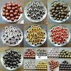 Wholesale Smooth Round Metal Copper Spacer Beads 2.4mm 3mm 4mm 6mm 8mm 10mm