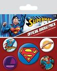 Superman Badge Pack 10x12.5cm