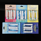 8X Electric Tooth brush Heads Replacement for Braun FLOSS ACTION