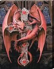 Anne Stokes Gothic Guardian Canvas Print 19x25cm