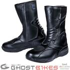 Black Stealth Evo Waterproof Touring Motorcycle Motorbike Bike Boots All Sizes