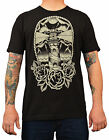 Men's Lighthouse by Adi Black Old School Tattoo Stormy Nautical Nights T-Shirt