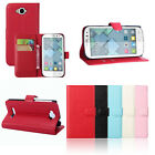 Leather Wallet Flip Case Cover For Alcatel One Touch POP C7 OT7040 New GFY