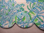 """New Lilly Pulitzer BUTTERCUP SHORT 6 / 12 """"Resort White Northeast Hahbah"""" Shorts"""