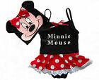 Girls Swimwear Tankini Swimsuit Bikini Bather Size 3-8Y Minnie Mouse Dot Bathing