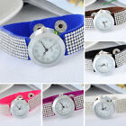 1PC New Women's Fashion Quartz Wristwatch Watch Band Pave White Rhinestone