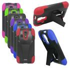 Phone Case For Kyocera Hydro Icon / Hydro Life Rugged Hard Cover Kickstand