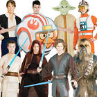 Star Wars Mens Fancy Dress Halloween Space Sci-Fi Film Characters Adults Costume