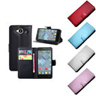 Luxury Leather wallet Case Cover For Alcatel One Touch Idol Mini OT6012X GFY