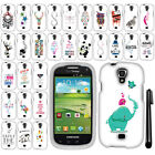 For Samsung Stratosphere 2 I415 Art Design PATTERN HARD Case Phone Cover + Pen