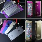 2015 New Mirror Effect Color Tempered Glass Screen Protector For iphone 6 6plus