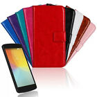 9Colors Magnetic Leather Protective Case Skin Cover For LG Optimus F60 GFY